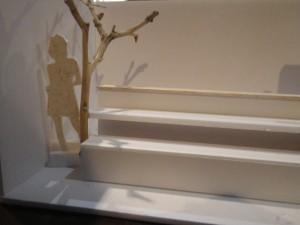 ディスプレイの木 模型