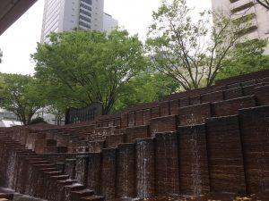 新宿三井ビル 噴水