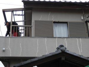外壁クラック 補修